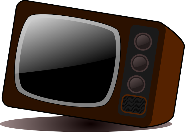 "The picture for the word ""Television, Television set, TV set"" - Word Associations Network"