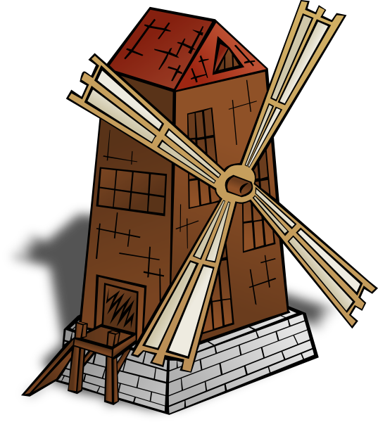 Windmill, Mill